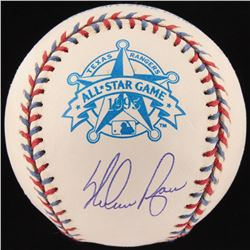 Nolan Ryan Signed 1995 All-Star Game Baseball With Display Case (PSA COA  Ryan Hologram)
