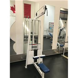 CYBEX WHITE / BLUE LAT PULLDOWN CABLE SYSTEM