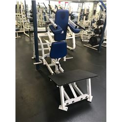 HAMMER STRENGTH WHITE / BLUE VERTICAL SQUAT
