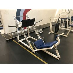 PARAMOUNT WHITE / BLUE VERTICAL LEG PRESS