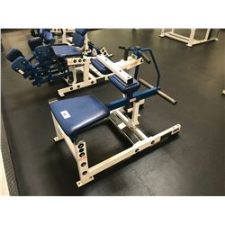 HAMMER STRENGTH WHITE / BLUE SEATED CURL