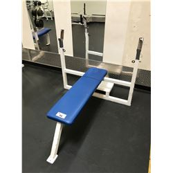 CYBEX WHITE / BLUE HORIZONTAL BENCH PRESS
