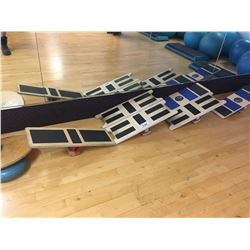 6 ASSORTED BALANCE BOARDS & SISSEL BALANCE DISC