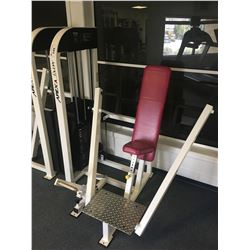 APEX LADY VERTICAL BENCH WEIGHT MACHINE