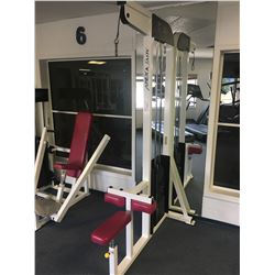 APEX LADY LAT PULLDOWN WEIGHT MACHINE