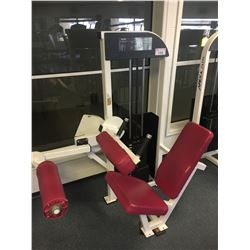 APEX LADY LEG CURL WEIGHT MACHINE