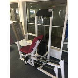APEX LADY SEATED LEG PRESS WEIGHT MACHINE