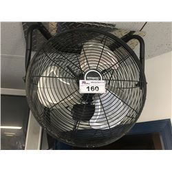 3 INDUSTRIAL CEILING MOUNT FANS