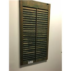 PAIR OF ANTIQUE SHUTTERS