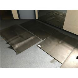 5 ASSORTED RUBBER EQUIPMENT MATS