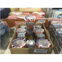 Case of HuerOriginal Candy Cups (12 x 165g)
