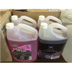 Windshield Washer Fluid 3.78L Lot of 4