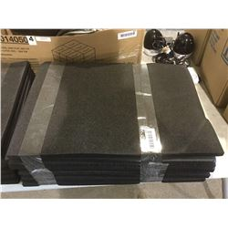 Lot of Black Foam Matts