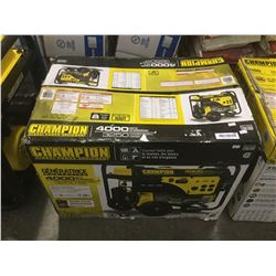Champion 4000 Watt Gen Set in Box