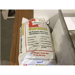 Bag of Supreme All Purpose Absorbent 12KG