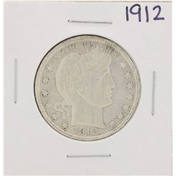 1912 Barber Half Dollar Coin