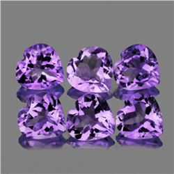 Natural Purple Heart Amethyst 10 mm - VVS