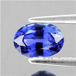 Natural Purplish Blue Sapphire 6x4 MM - Flawless