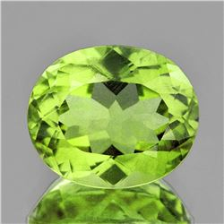 Natural Canary Green Apatite 2.03 Cts - VS (Untreated)