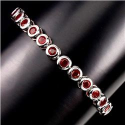 Natural Top Blood Red Ruby Bracelet