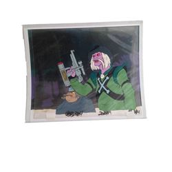 Filmation Studios BraveStarr Animation Cel