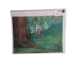 Lucasfilm Ltd. Ewoks Animation Cel