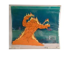 Filmation Studios Aquaman Animation Cel