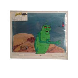 Filmation Studios The Atom Animation Cel