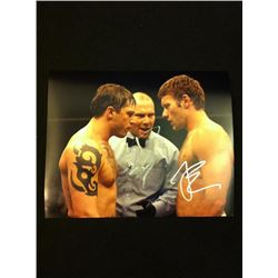 Warrior Photo Signed by Tom Hardy and Joel Edgerton