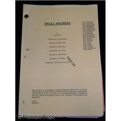 Small Soldiers Original Production Screenplay (1998)