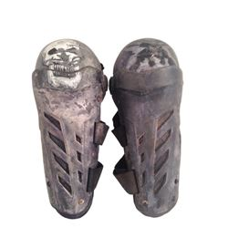 Resident Evil: The Final Chapter Christian's (William Levy) Shin Guards Movie Props