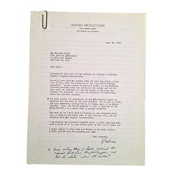 Howard Hughes Handwritten Original Collier's Article