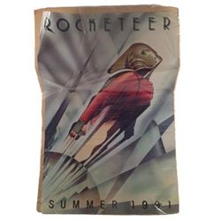 The Rocketeer Color Poster