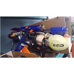 SUPER SOAKER AND 2 NERF GUNS