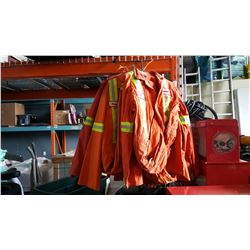 10 SIZE 46 REG AND TALL COVERALLS