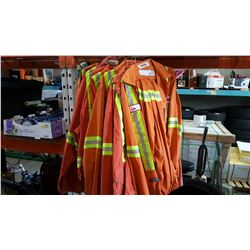 10 SIZE 44 TO 50 REG AND TALL COVERALLS