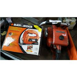 REMINGTON GAS CHAINSAW AND BLACK AND DECKER JIG SAW