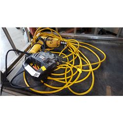 BLACK AND DECKER JIGSAW DRILL AND EXTENTION CORD