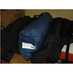 TENT IN BAG AND 6 SUIT BAGS