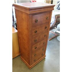 MODERN 6 DRAWER TALL CHEST OF DRAWERS