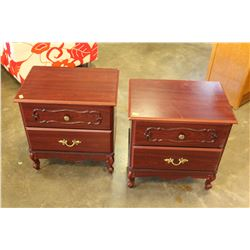 PAIR OF PALETHORPE AND DOWLING CANADIAN MADE NIGHT STANDS