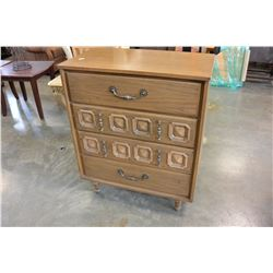 4 DRAWER VINTAGE HIGHBOY