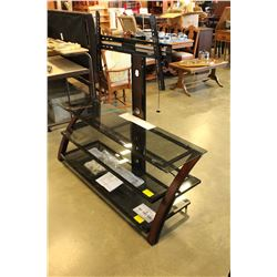 NEW MODERN Z LINE BALTIC FLAT PANEL 3 IN 1 TV STAND WITH OPTIONAL WALL OR STAND MOUNT
