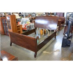 MORDERN QUEEN SIZE SLEIGH BED FRAME