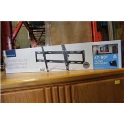 NEW OVERSTOCK INSIGNIA 47-80 INCH TILTING TV WALL MOUNT, COMPLETE, UP TO 120 LBS