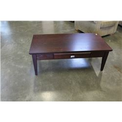 MODERN 1 DRAWER COFFEE TABLE