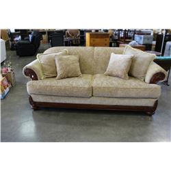 RACHLIN CLASSICS WOOD FRAMED SOFA