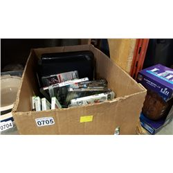 BOX OF XBOX 360 CONSOLES AND GAMES