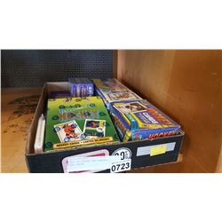 TRAY OF HOCKEY AND BASEBALL CARD PACKS