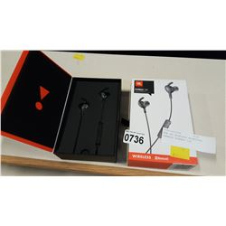 NEW JBL WIRELESS BLUETOOTH EARBUDS EVEREST 100